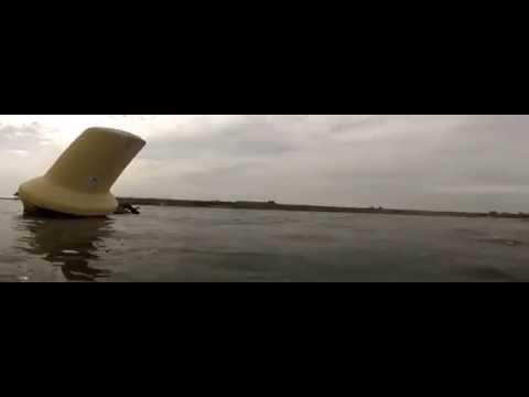 Grevelinger Meer Pfingsten 2014, De Kabbelaar - ´De Rat´ und ´De Zeehond´,Niederlande