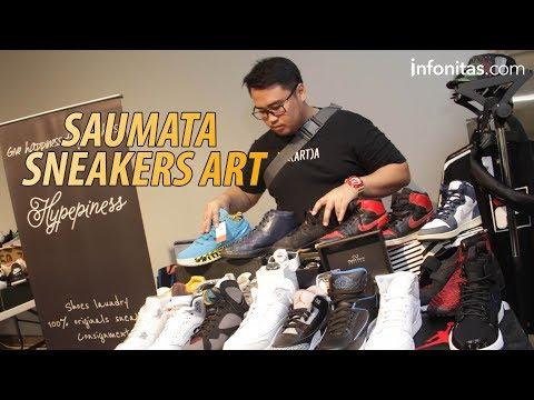 Saumata Sneakers Art