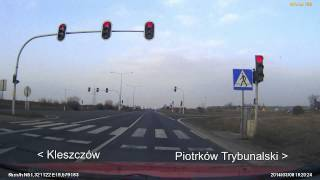 preview picture of video 'DK1 Kamieńsk - Piotrków Trybunalski'