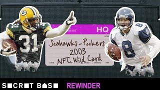 Matt Hasselbeck's OT declaration in Green Bay needs a deep rewind | Seahawks - Packers 2003 Playoffs thumbnail