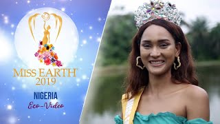 Modupe Susan Garland Miss Earth Nigeria 2019 Eco Video