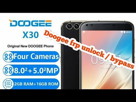 doogee x30 frp unlock without pc/bypass google verification without box -  Музыка для Машины