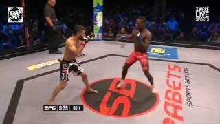 Demarte Pena vs Irshaad Sayed   EFC 55 - FULL FIGHT