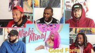 Nicki Minaj   Good Form Ft. Lil Wayne REACTION