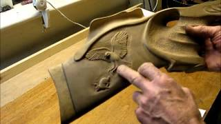 Projects In The ShedDamascus Knife Handle Carved Gun Stock Build  Making Fishing Lures For Pike