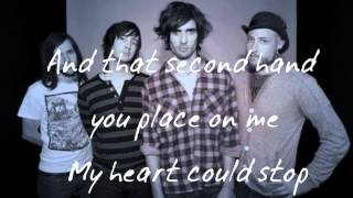 The All-American Rejects - Walk Out The Door   lyrics