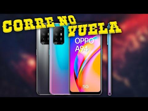Review Oppo A94 5G en Azul Cosmo 🔥 (Muy RÁPIDO, pantalla AMOLED, buenas FOTOS/VÍDEOS, y mucho más)
