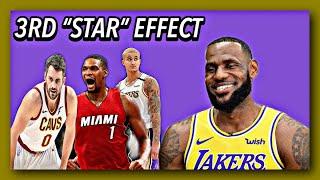 The LeBron Big 3 Effect