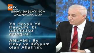 Nihat Hatipoglu-Sinav Duasi
