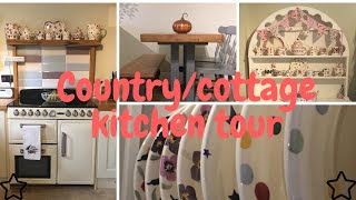 COUNTRY/COTTAGE KITCHEN TOUR | 2018