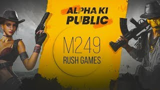 🔴PUBG MOBILE LIVE : M249 RUSH GAMES + NEW HALLOWEEN UPDATE    H¥DRA   Alpha 😎😍