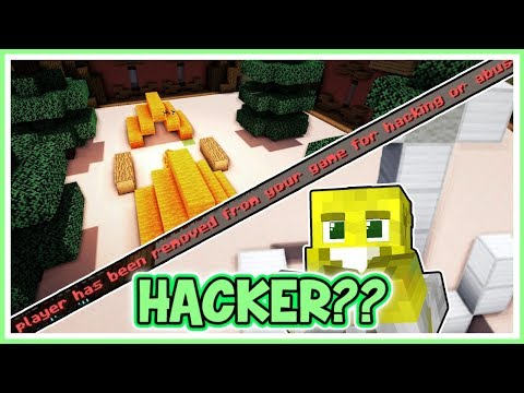 A Hacker In My Game?? | Minecraft Guess The Build
