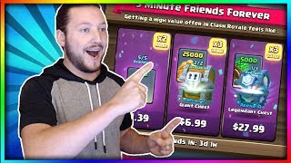 OPENING ALL NEW SPECIAL OFFERS!! - Are they Worth it?? Golem Flying Machine Deck - Clash Royale