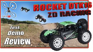 ZD Racing Rocket DTK16 - Review Test Démo - Bon moment de détente avant le Live !