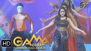 Reshmi Dance Performance in ETV GAMA Music Awards 2015 - 20th March 2016