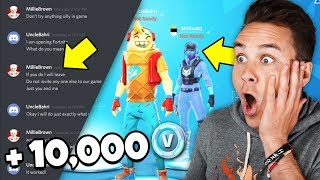 A Fortnite HACKER Joined My Game And Did THIS...