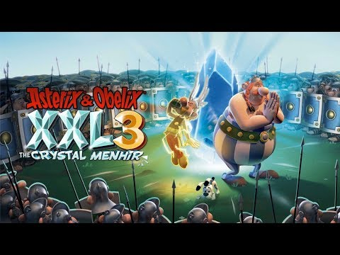 Asterix & Obelix XXL3: The Crystal Menhir | First 26 Minutes on Nintendo Switch - First Look