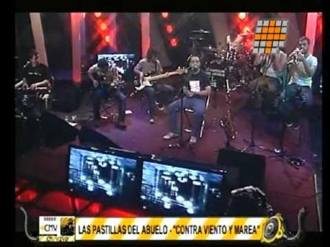 Las Pastillas del Abuelo video Contra viento y marea - CM Vivo 17/11/2010