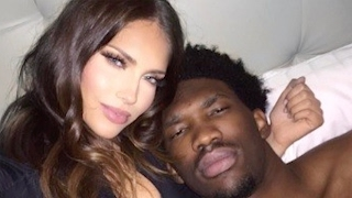 """Joel Embiid BLASTS """"Groupie Ass Hoe"""" and WAGS Star Olivia Pierson Over Instagram Photo"""