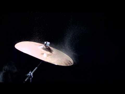 Smashing Cymbal's in Slow Motion
