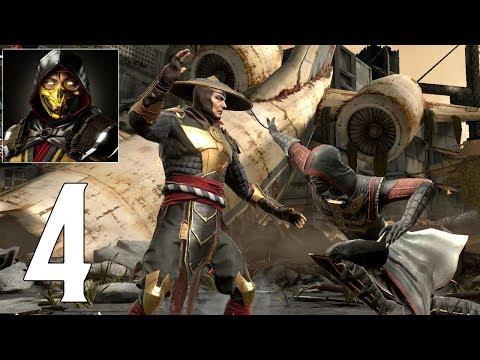 Mortal Kombat Mobile - Gameplay Walkthrough Part 4 - Raiden MK 11