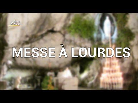 Messe du 19 mars 2020 à Lourdes