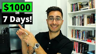 How I Make $1,000 In 7 Days On Fiverr