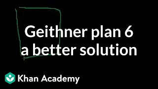 Geithner 5: A better solution