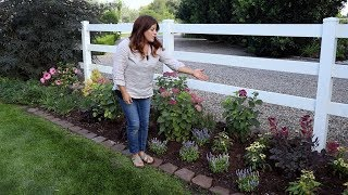 Designing A Narrow Flowerbed To Look Abundant 🌿💚🌿// Garden Answer