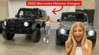 SURPRISING MY WIFE WITH 2022 MERCEDES G63 4X4 SQUARED MONSTER ….
