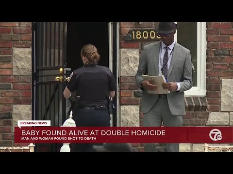Baby found alive at scene of double homicide