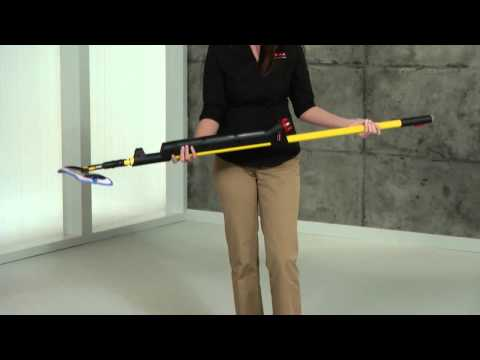 Product video for Executive Series™ HYGEN™ PULSE™ Microfiber Mop Frame, Single Sided, Black