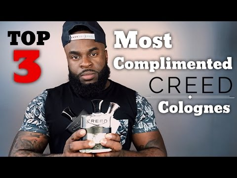 Top 3 Most Complimented Creed Fragrances | Men's Cologne Review