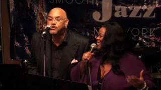 Maysa and Phil Perry perform 'I'm On Your Side' with The Angela Bofill Experience