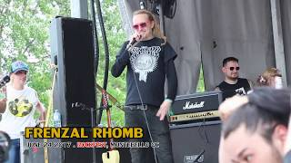 FRENZAL RHOMB - Classic Pervert @ Rockfest, Montebello QC - 2017-06-24