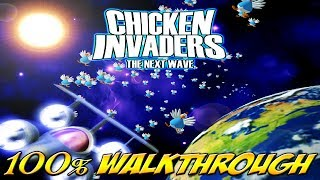 Chicken Invaders 2: The Next Wave - ALL WAVES / LEVELS [100% walkthrough]