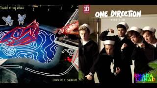 Gambar cover Panic! at the Disco vs. One Direction - LA Kiss