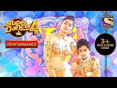 Sanchit का अनोखा  Dancing Style | Super Dancer 4 | सुपर डांसर 4