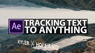 After Effects: EASY Text Tracking Tutorial!