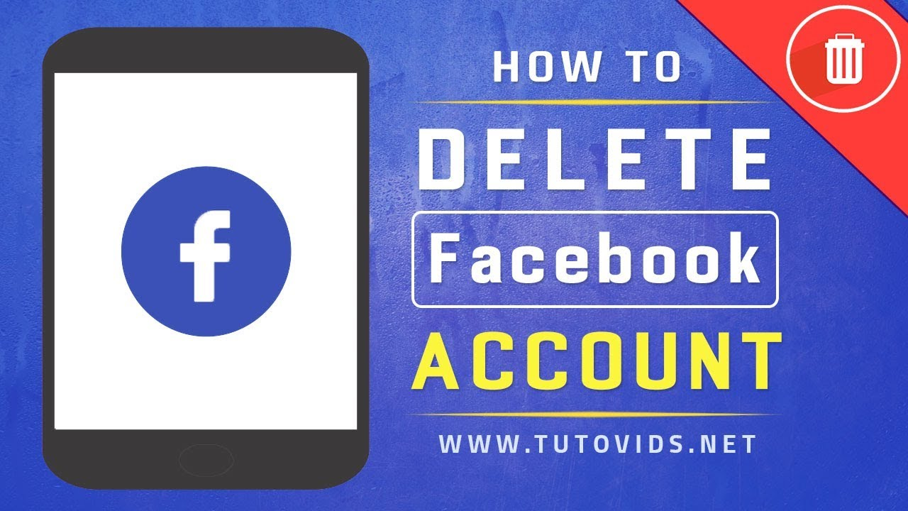 How To Delete Facebook Account On Android App