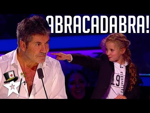 Real Life Hermione Granger Puts A Spell on Simon Cowell | Magicians Got Talent