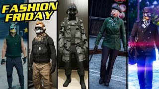 GTA Online: FASHION FRIDAY (Black Ops, The Rhino, Urban Soldier & More)