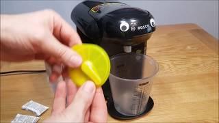 How to Descale a Bosch Tassimo Coffee Machine - EASY
