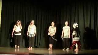 preview picture of video 'Les pirates se carapatent joué par les enfants 7-10 ans, mai 2014'