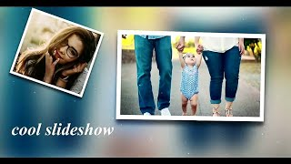 after effects photo slideshow project file free download
