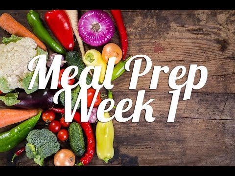 Video Healthy Meal Prep | Week 1