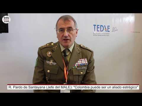 """R. Pardo de Santayana (Jefe del MALE): """"Colombia puede ser un aliado estratégico"""""""