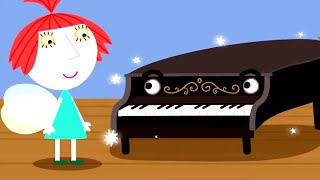 Ben and Holly's Little Kingdom | The Piano Man | Kids Videos