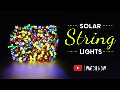 Solar Fairy String Decorative  Diwali Light