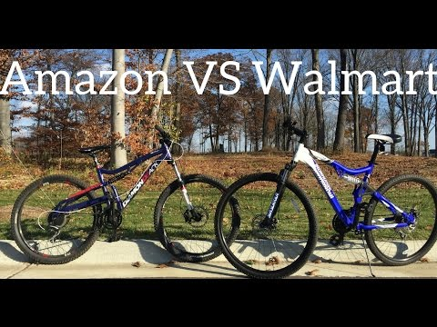 Walmart Mountain Bike VS Amazon Mountain Bike